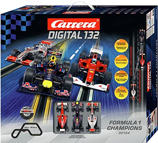 be44a05bf5 Buy Carrera Digital 132 Formula 1 Champions Race Car Set Online at Low  Prices in India - Amazon.in