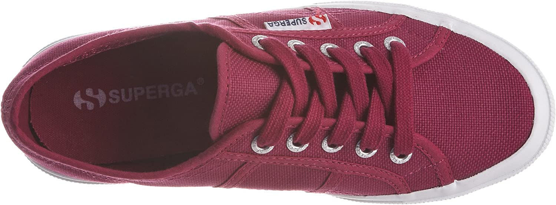 Superga 2750-cotu Classic, Baskets Mixte Rouge Tr C3 25