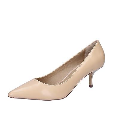 3f8870e34e2 Steve Madden Women s Court Shoes Beige Size  4.5  Amazon.co.uk ...