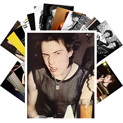 Amazon com: Postcard Set 24 cards SID VICIOUS AND JOHNNY ROTTEN SEX