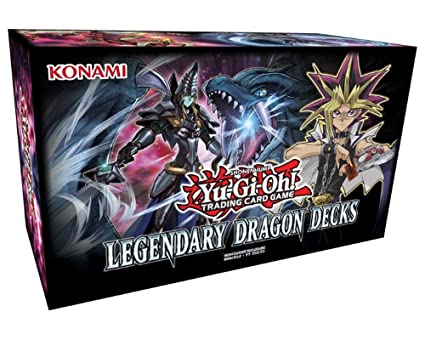 Yu-Gi-Oh! Trading Card Game- Yugioh Legendary Dragon Decks Box