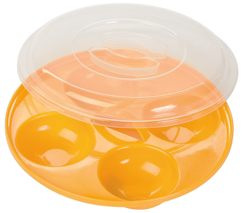 Prep Solutions by Progressive Microwavable Four Egg Poacher GMMC-720