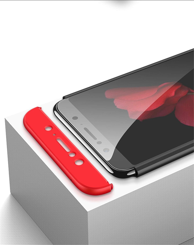 Verre tremp/é Matte Ultra Slim Cover PC Hard Case Bleu DECHYI Compatible pour Coque ASUS Zenfone Max Pro M1,Cover