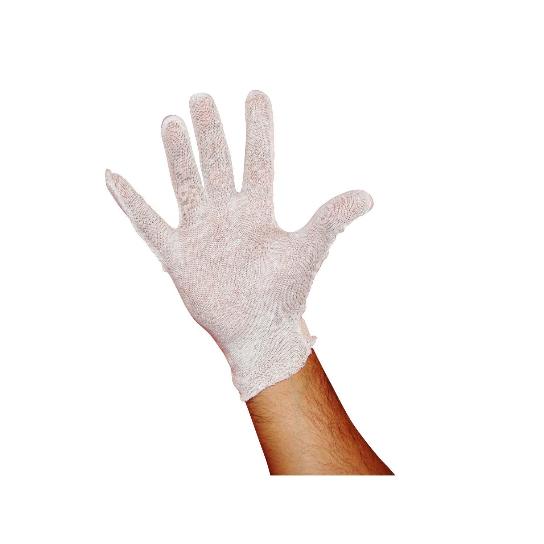 Cotton Gloves Lisle Inspection - Men 100 Dz/cs