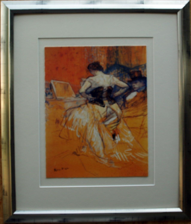 Henry de Toulouse Lantrec, Gemälde auf Leinwand gedruckt, gerahmt ...