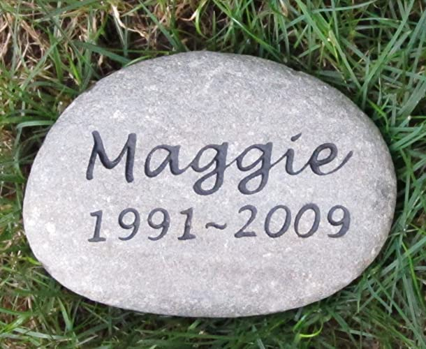 amazon com personalized pet memorial stone dog cat rat mice