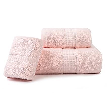 lymga Juego de toallas (1 toalla de baño, 1 toalla de ducha, 1