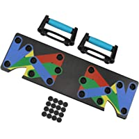 rayinblue - Push up Board, 9-in-1 Body Building Stands Board, Fitness Workout Gym Thuis Oefening (1 stks Board)