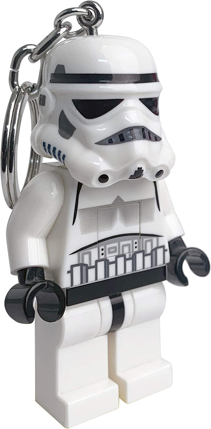 IQ Lego Star Wars Stormtrooper LED Key Light - 3 Inch Tall Figure