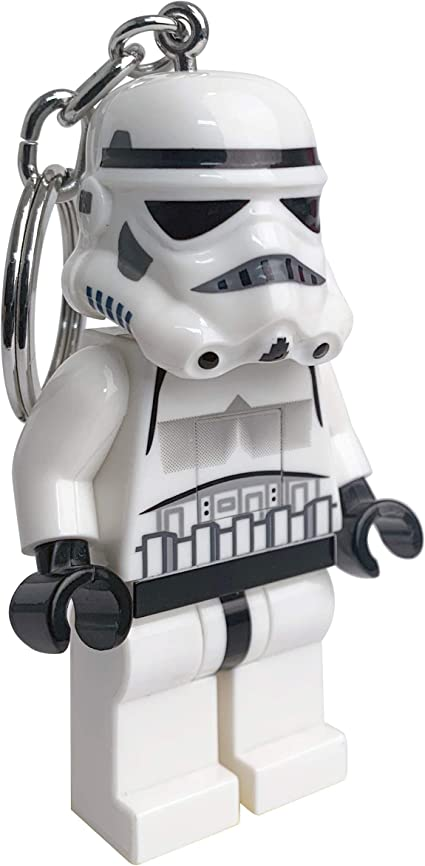 Lego Star Wars First Order Stormtrooper LED Key Light Keychain Torch