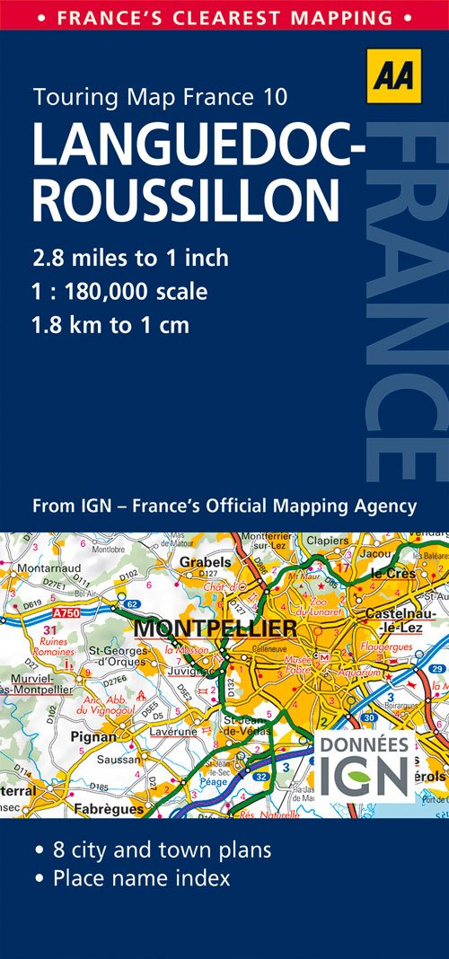 Read Online Road Map Languedoc-Roussillon (Road Map France) pdf epub