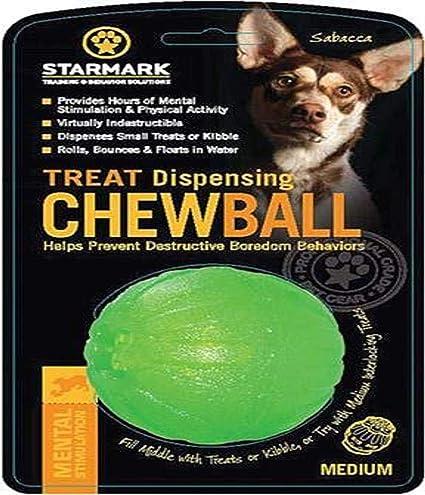 JULIUS K9 59801 Treat Dispensing Chew Ball - 7 cm, M, Green ...