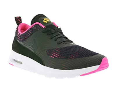 release date: huge selection of good service Amazon.com | NIKE Air Max Thea W EM Ladies Trainers Black ...
