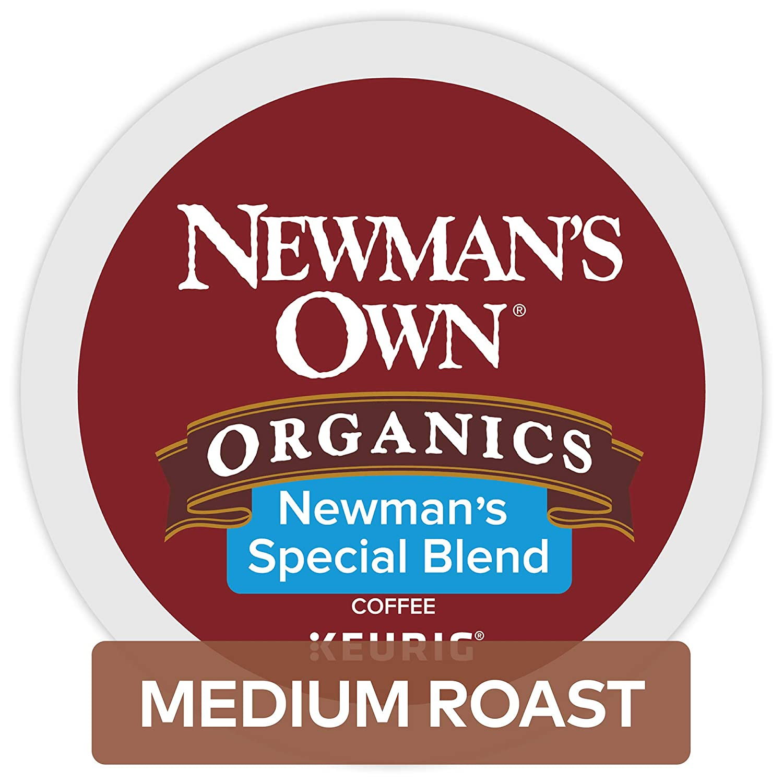 Newman's Own Organics Special Blend Keurig Single-Serve K-Cup Pods, Medium Roast Coffee, 96 Count