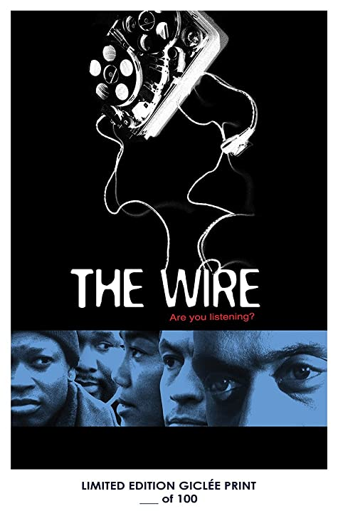 RARE POSTER Thick Dominic West THE WIRE Omar Little Tv REPRINT D 100