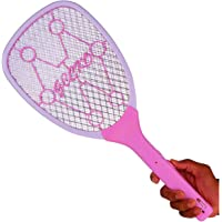 QUICK UNBOX Rechargeable Electric Mosquito Killer Bat Racket Insect Fly Swatter Bug Zapper for Home (Multicolor)