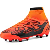 DREAM PAIRS Boys Girls Athletic Soccer Football Cleats Shoes(Toddler/Little Kid/Big Kid)