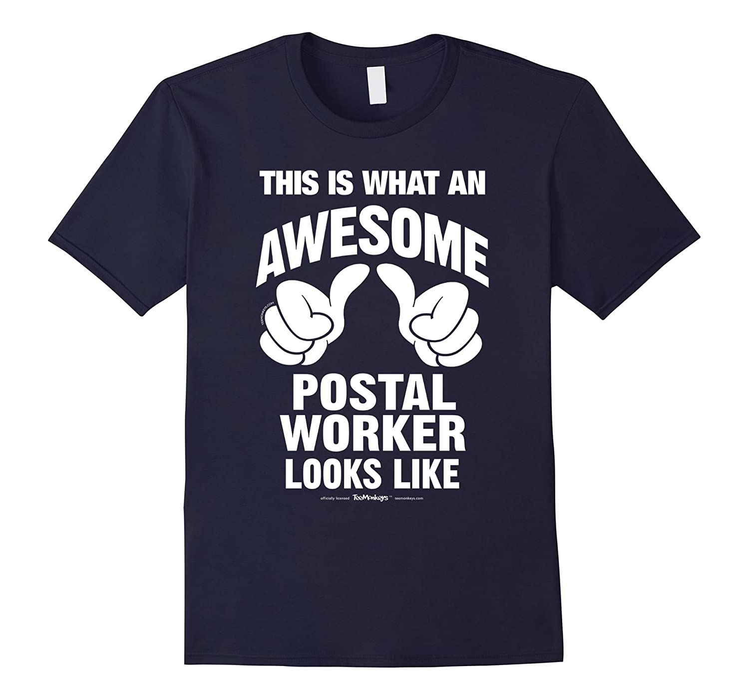 This Is What An Awesome Postal Worker Looks Like T-Shirt-TD