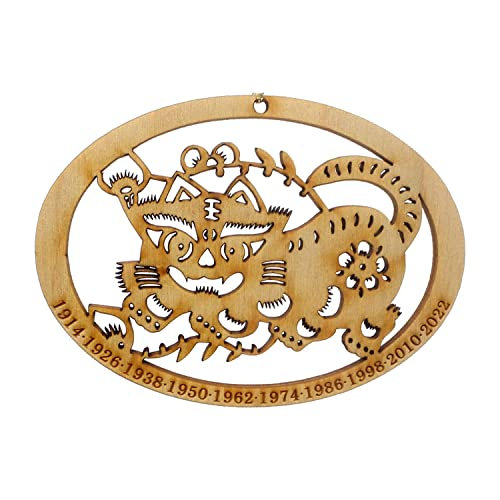 Amazon com: Chinese Zodiac Tiger Ornament - Year of the