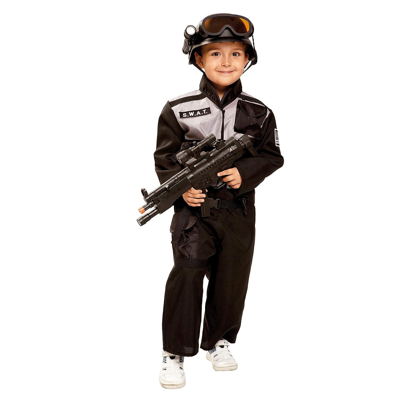 My Other Me Me-202667 Disfraz SWAT para niño, color negro, 10-12 ...