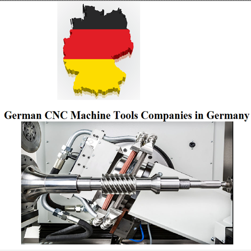 - German CNC Machine Tools Companies in GERMANY