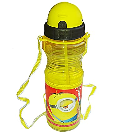 c0c1d94a14 PP High Quality Green Minions Fun Life Economic Friendly Drinking Straw Bpa  Free Sports/School Sipper Water Bottle for Kids Boys and Girls: Amazon.in:  Home ...