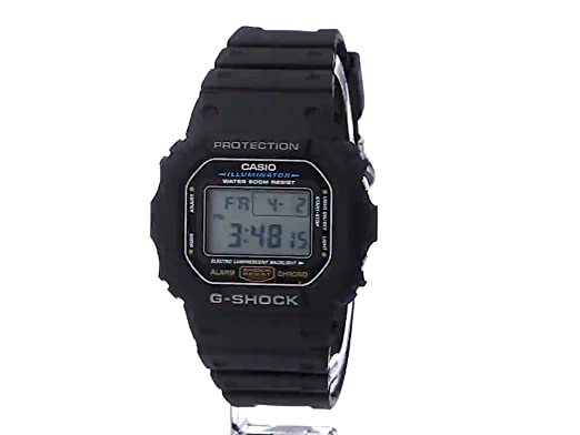 f22344622743 Amazon.com  Casio Men s G-shock DW5600E-1V Shock Resistant Black Resin  Sport Watch  Casio  Watches