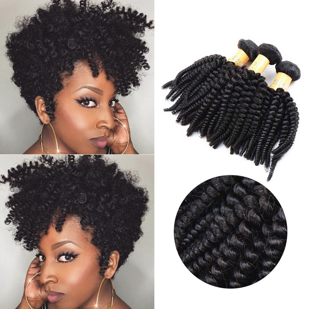Amazon Top Hair Unprocessed Virgin Brazilian Curly Human Hair