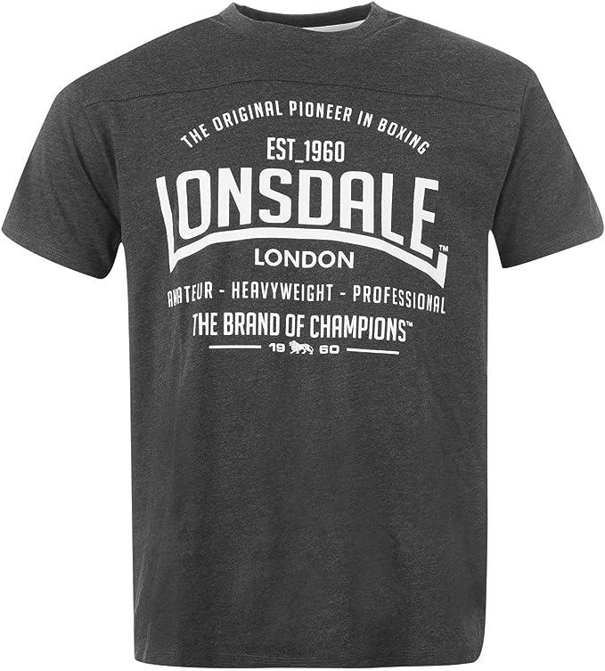 Lonsdale Hombre Camiseta De Box: Amazon.es: Ropa y accesorios