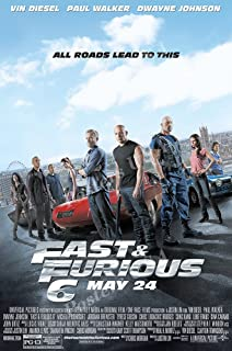 Posters USA Fast And Furious 6 Movie Poster GLOSSY FINISH