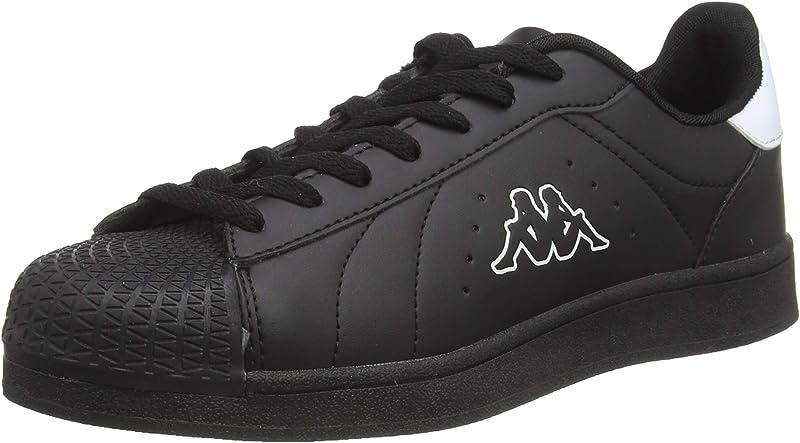 Kappa Olymp Sneakers Unisex Damen Herren Schwarz