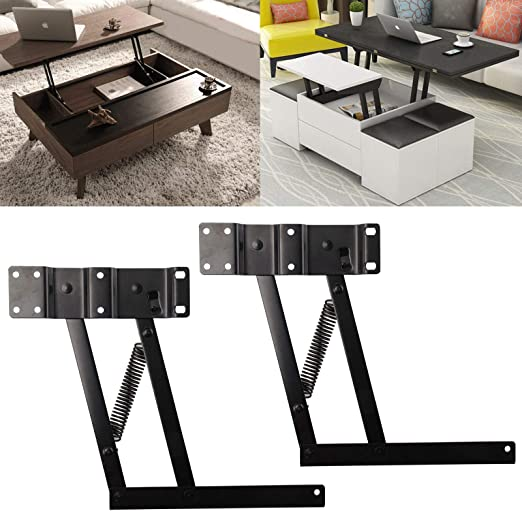 JUEYAN 2 x Bisagra Lift Up Mesa Muebles Mecanismo de bisagra ...