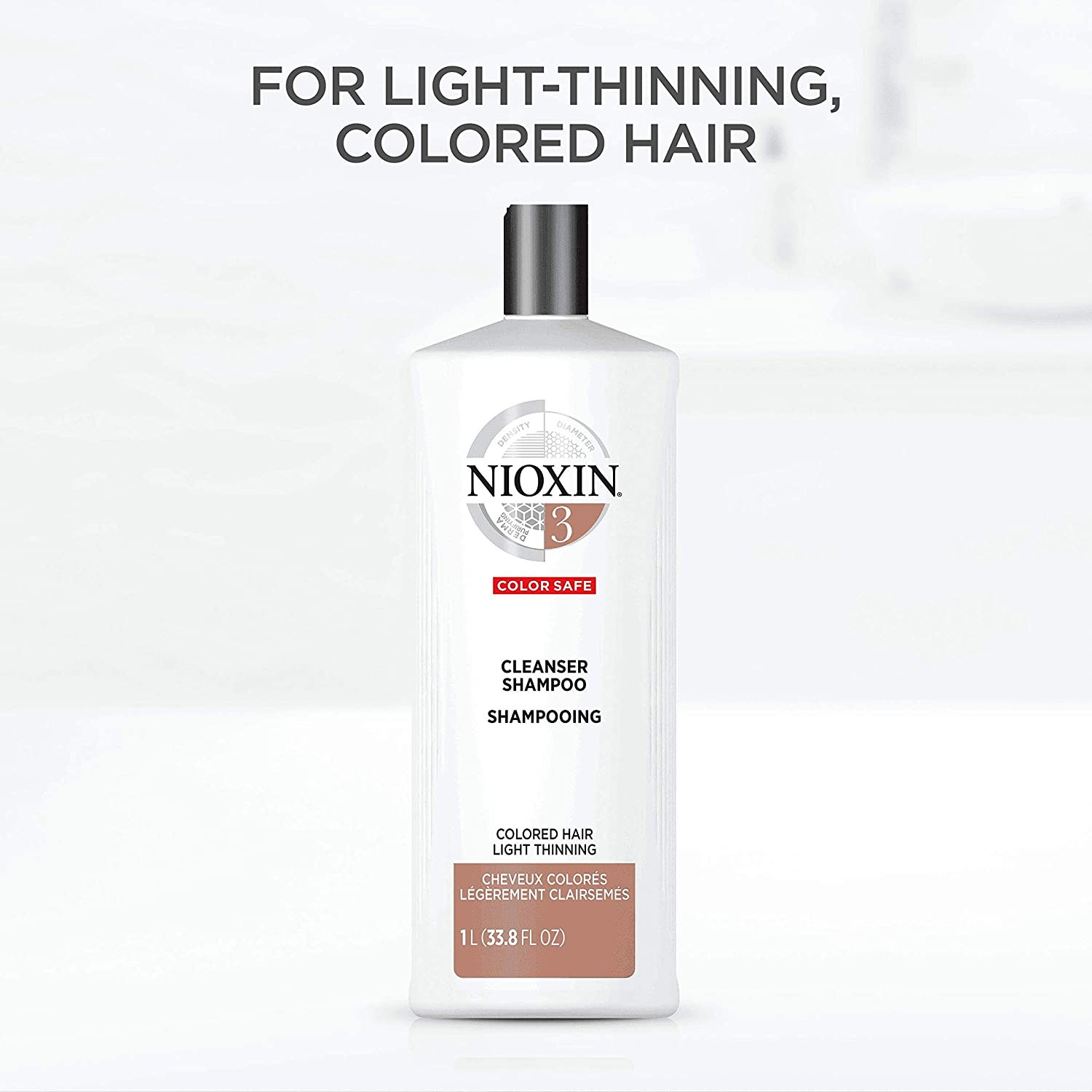 Amazon Nioxin Cleanser System 3 Finetreatednormal To Thin