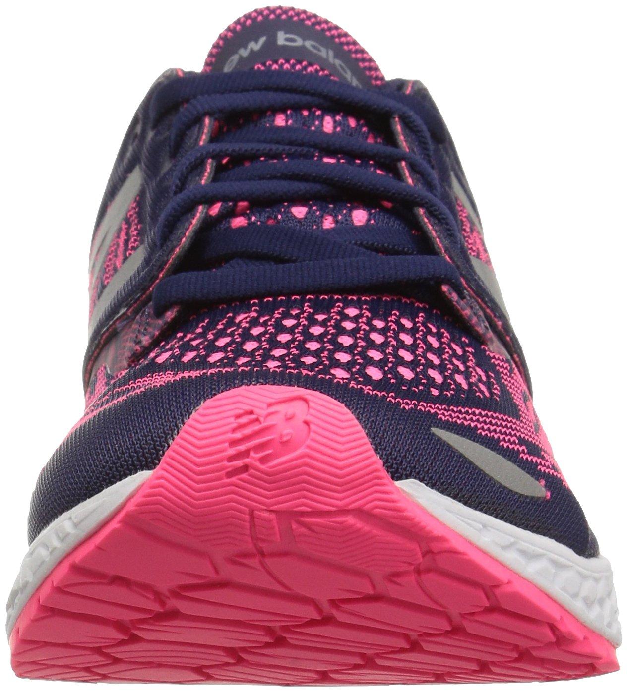 New Balance Women's ZanteV2 Breathe Running Shoe B01FSJ59DK 8 D US|Dark Denim/Alpha Pink