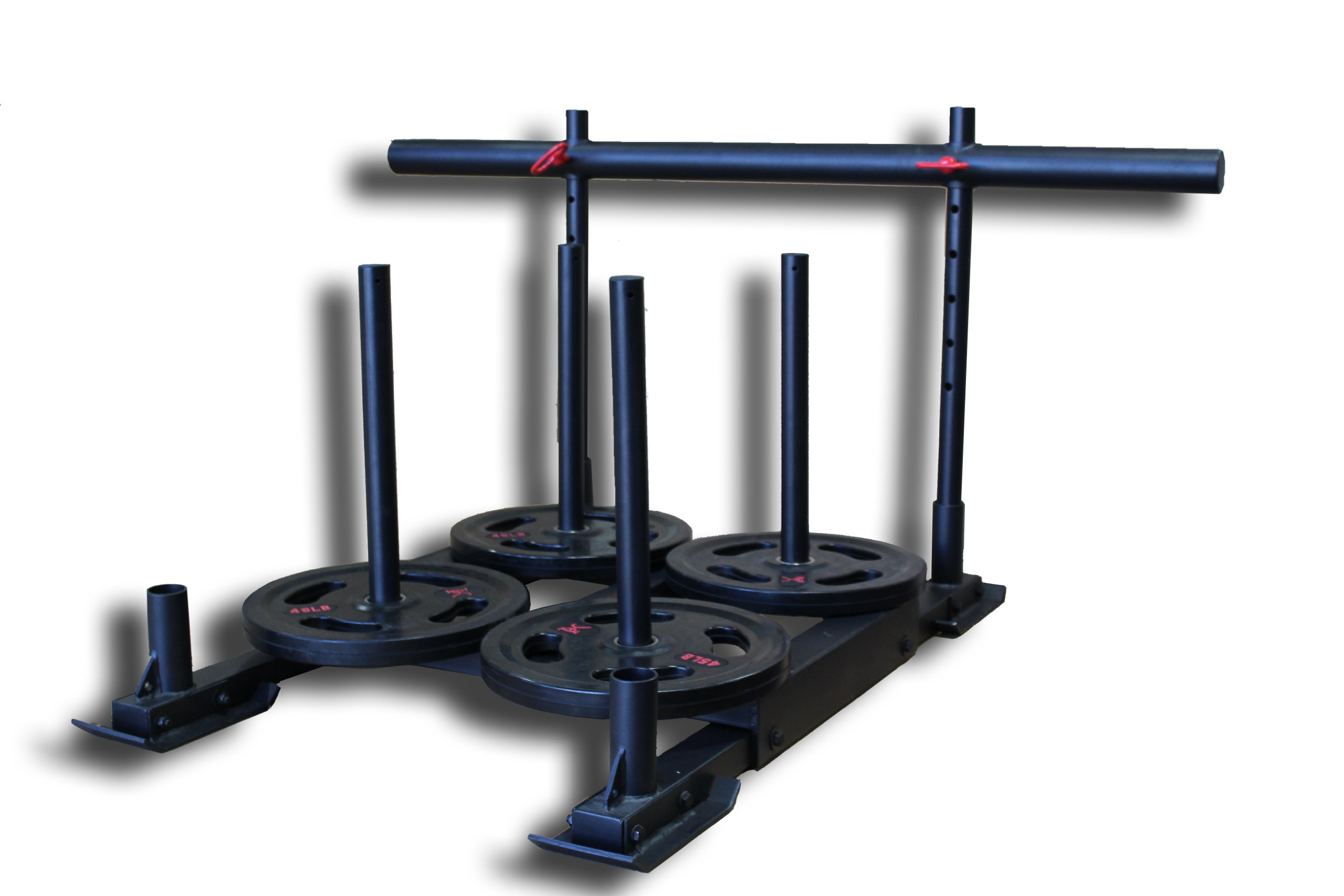 "CFF ""Alaskan"" Weighted Push, Pull Team Sled - Great for Cross Training, MMA, Boxing, Personal Training, Bootcamp by CFF (Image #2)"