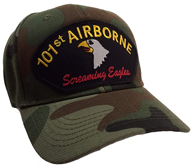 Image Unavailable. Image not available for. Color  US Army 101st Airborne  Division Hat Camo Ball Cap 378c8a0035d3