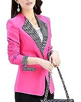 Bikifree Women Casual long sleeved Single button women coats Elegant Autumn Female Women Suit Office clothing