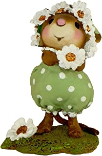 """product image for Wee Forest Folk Mouse """"Daisy Chain"""" Figurine"""