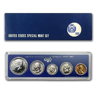 1967 United States Special Mint Set Silver Kennedy GEM BRILLIANT SET