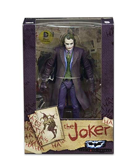 8d782f5a Image Unavailable. Image not available for. Colour: Neca The Dark Knight  Joker Heath Ledger ...