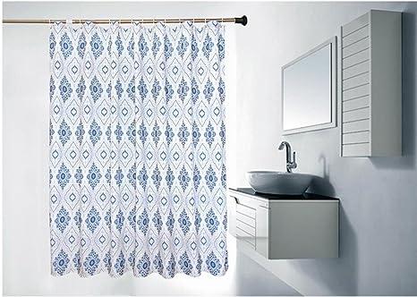 Tende da doccia più spesse impermeabili tendine da bagno in