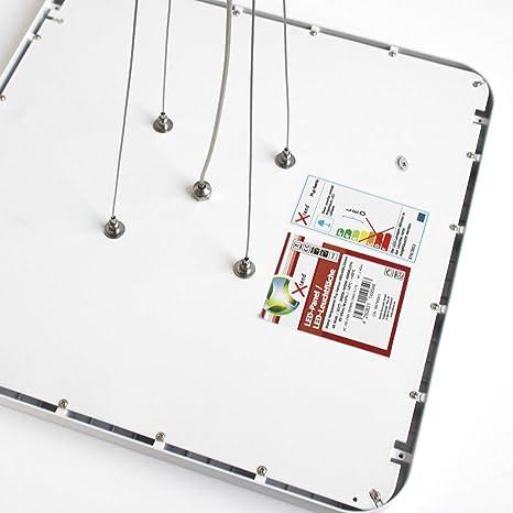 LED de diseño lámpara de techo regulable colgante 40x40 conmutable 40w control remoto