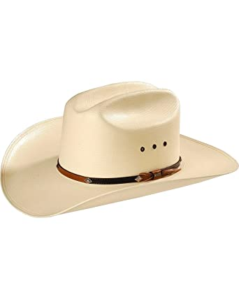 0239ec02 Stetson Men's 10X Grant Straw Cowboy Hat at Amazon Men's Clothing store: