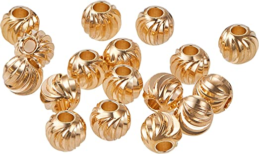GOLD PLATED 17 1//2MM BUTTON COVERS 4 PCS BC03