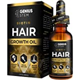 GENIUS Hair Growth Oil, Biotin Hair Growth Serum, for Stronger, Thicker, Longer Hair, Hair Growth Treatment for Women…