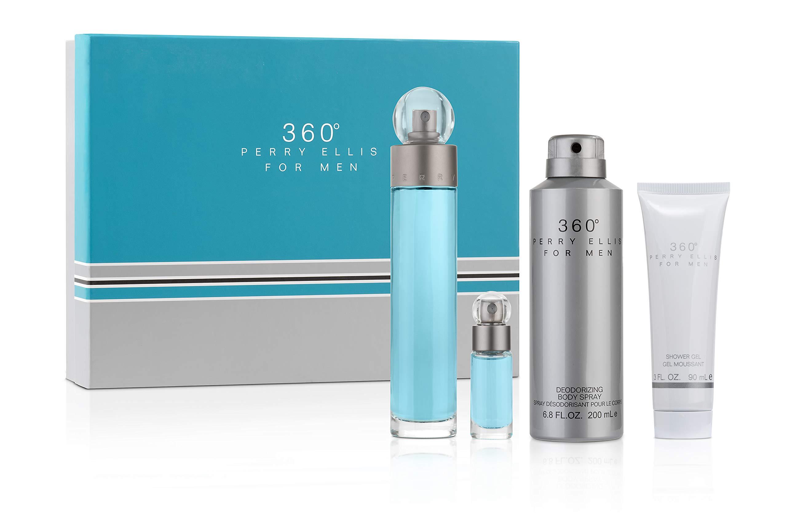 Perry Ellis Fragrances 360 for Men 4-piece Gift Set