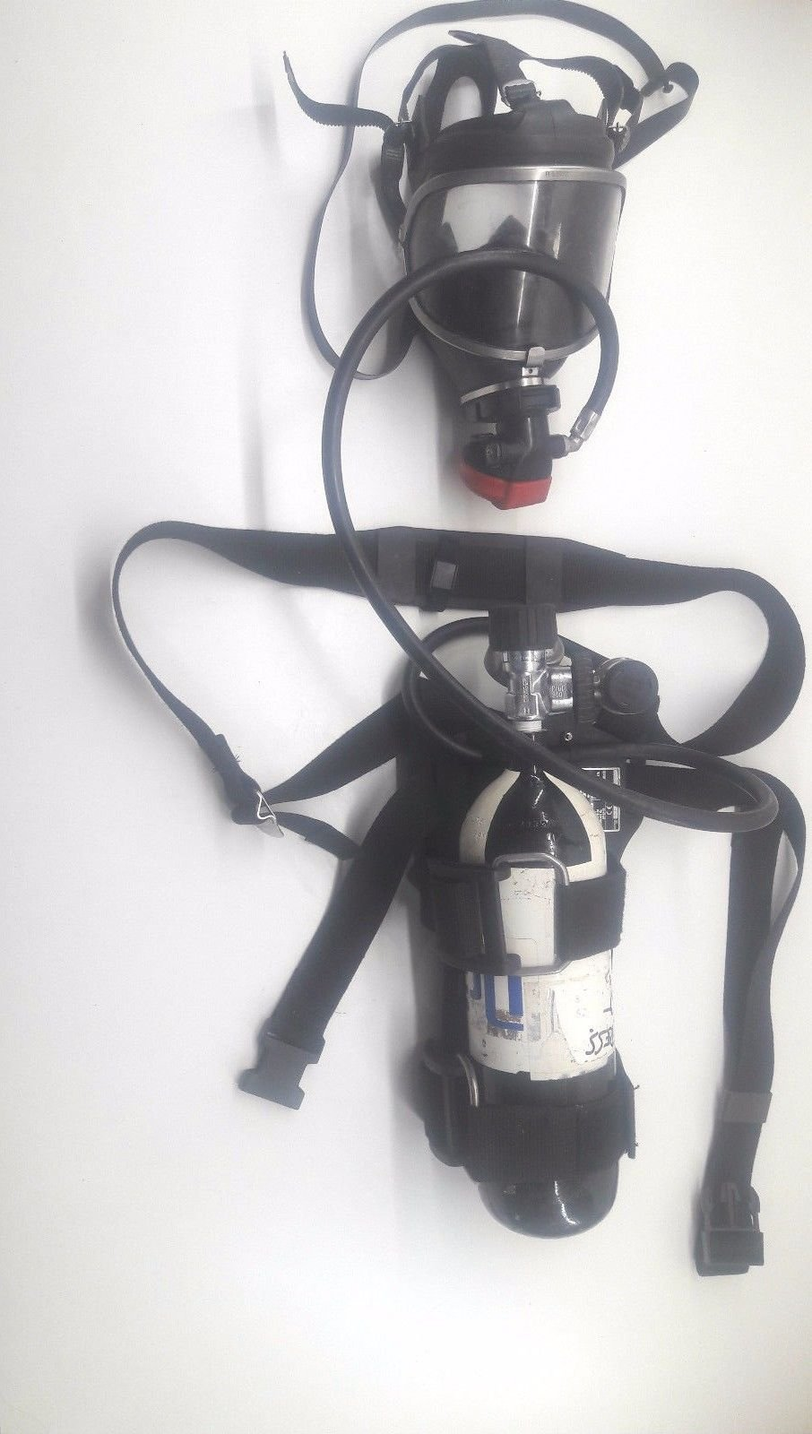Drager Pa90 Lifeguard Breathing Apparatus Single Cylinder