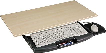 Ergobasis - Soporte para teclado (para colocar debajo de una mesa ...