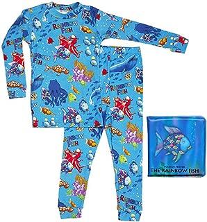 product image for Books to Bed Big Boys' Christmas Striped Pajamas