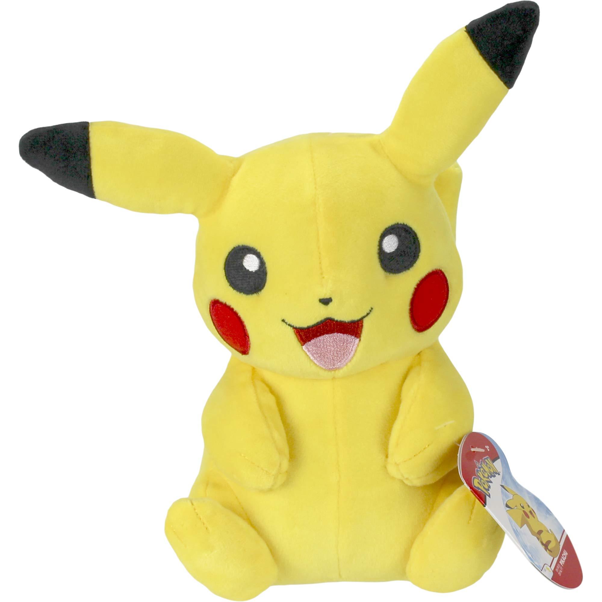 Pokémon Official & Premium Quality 8'' Plush - Pikachu by Pokemon